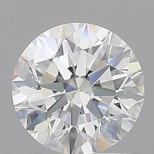 Loose Diamonds Round Cut 0.610 Carat H Color Si1 Clarity Sku 196017125